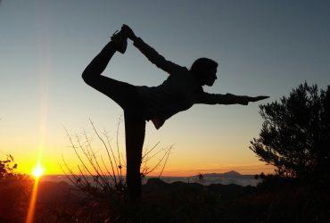 Abend-Yoga im Projektgarten