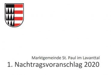 2020-V27-30.11.2020 Verordnung, 1. Nachtragsvoranschlag für das Haushaltsjahr 2020