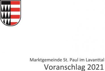 2020-V28-15.12.2020 Verordnung, Entwurf Verordnung Voranschlag für das Haushaltsjahr 2021